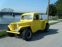 Custom Classic Willys Pickup With Modern Conversion In