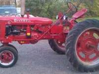 Here up for sale is a 1948 Completely restored Farmall