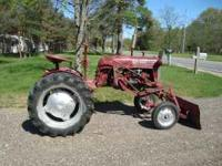 1948 Farmall Cub for sale. Runs and drives excellent.