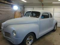 Up for Sale is a 1948 Plymouth Business Coupe, It has a