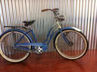 "1948 or 1952 Girls Schwinn Starlet with a 24"" wheel, in"