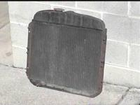 For Sale: A 1949 - 1952 Chevy automobile radiator. Part