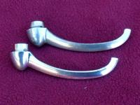 THIS IS A PAIR OF STOCK INNER DOOR HANDLES THAT CAME