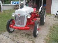 A beautiful 1949 8N ford tractor. New Paint Great