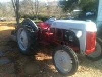 This is my ford red belly tractor. It runs good but