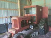 This is a 1949 Allis Chalmers WD. It has been kept
