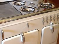1949 Antique White Chambers Stove For Sale  1 owner