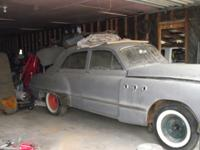 1949 Buick 4 door, all new side glass, have all parts