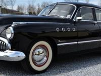 1949 Buick Roadmaster Straight 8 cylinder Automatic in