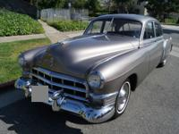The '48 Cadillac's had new postwar styling with the