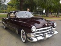 Stunning 1949 Cadillac, an excellent example of this