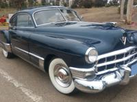 1949 CADILLAC Series 62 Sedanette Recently Restaured. A