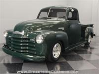 This handsome Forester Green 1949 Chevrolet 3100 pickup