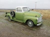This truck is straight out of the past! It is a 49 -