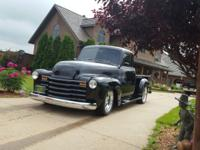 For Sale 1949 Chevy 3100 5 Window Pick Up This is a