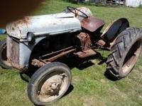 for sale. 1949 8n Ford tractor runs great. fires right