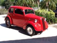 1949 Ford Anglia Chevy 355 RWD.  All steal exc. rear