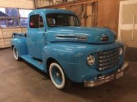 I am selling my 1949 ford F1 truck. It has a very