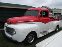 **Sharp** 1949 Custom Pickup! Beautiful inside and out