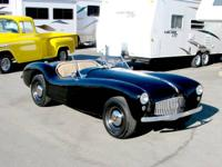 1949 Glasspar Roadster V-8 Very Rare Find   Pre