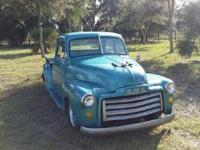 1949 GMC 5 window half ton shortbed truck. Very solid