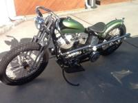 1949 Harley Panhead motor that was put into an OEM VL