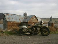 1949 Harley WD-45 Flathead ready for a new home. All