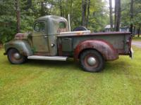 This KB-2 3/4 ton 4 speed has been rebuilt bumper to