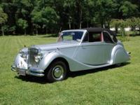 The Jaguar Mark V was a saloon car built by the Jaguar