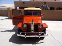 1949 Jeep Willys Wagon with Chevy 4.3 engine.  For sale