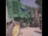 1949 John Deere Mt tractor with 1949 John Deere MT-2