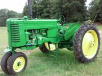 I have a 1949 John Deere MT for trade. It's a working