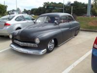 1949 Mercury Custom 4 door suicide. This car has tons