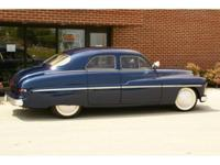 This is a beautiful 1949 Mercury 4-door that has been