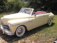 1949 Plymouth Convertible for sale (AL)- $24,000 Fully