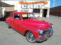 1949 Plymouth Special Deluxe Coupe - flathaed inline