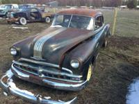 This 1949 Pontiac has a great shape to it ... needs