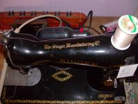 We have a 1949 singer sewing machine that is in really
