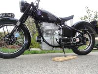 1949 Sunbeam S8, Shaft Drive-Motorcycle. 2655 Original