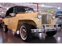 Gentlemen. What a beautiful 1949 Jeepster we present