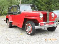 The Jeepster has been in the family for 50 years. It
