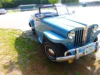 1949 Willys Jeepster (NH) - $20,999 OBO Exterior: Blue