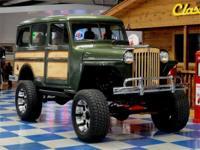 1949 Willys Overland Custom 4WD. Custom fit to K Blazer