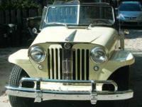 1949 Willys Overland Jeepster Convertible American