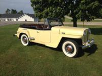 1949 Willys Overland Jeepster Phaeton-Year : 1949-Make