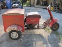 !!!! THIS IS A 1949 INDIAN THREE WHEELED SERVICE CART