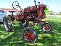 1949 INTERNATIONAL FARMALL CUB TRACTOR! - $2100