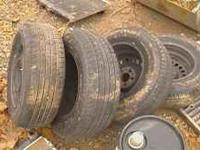 4 used 195 70 14 used tires thay are monted on chevy 5
