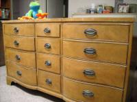 Heritage Bow-Face 12-Drawer Dresser in Great Condition.