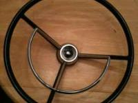 1950-1960 ford steering wheel great condition like new